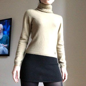 Chanel 100% Cashmere Turtleneck Sweater